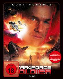 Star Force Soldier (Blu-ray & DVD im Mediabook), 2 Blu-ray Discs
