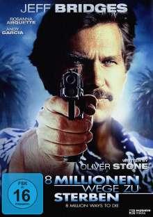 8 Millionen Wege zu Sterben, DVD