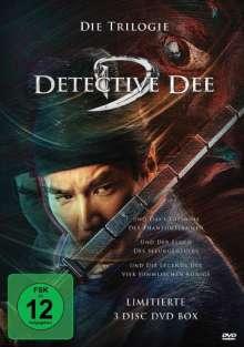Detective Dee - Die Trilogie, 3 DVDs