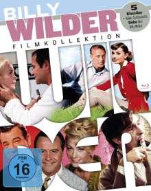 Billy Wilder Filmkollektion (Blu-ray), 5 Blu-ray Discs