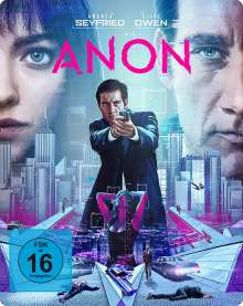 Anon (Blu-ray im Steelbook), Blu-ray Disc
