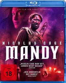 Mandy (Blu-ray), Blu-ray Disc