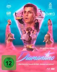 Diamantino (Blu-ray & DVD im Mediabook), Blu-ray Disc
