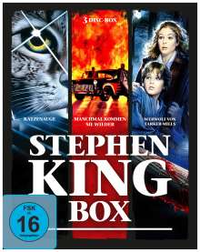 Stephen King Box (Blu-ray), 3 Blu-ray Discs