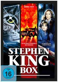 Stephen King Box, 3 DVDs