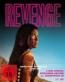 Revenge (Blu-ray & DVD im Mediabook), 1 Blu-ray Disc, 1 DVD und 1 CD