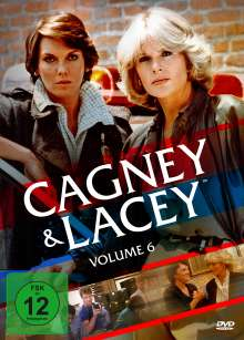 Cagney & Lacey Vol. 6 (Staffel 7) (finale Staffel), 6 DVDs