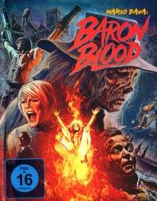 Baron Blood (Blu-ray & DVD im Mediabook), 1 Blu-ray Disc und 2 DVDs