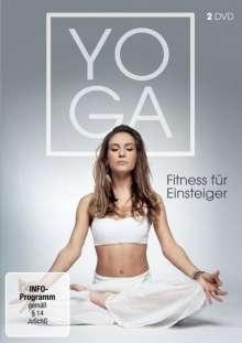 Yoga - Fitness Box für Einsteiger, 2 DVDs