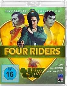 Four Riders (Blu-ray), Blu-ray Disc