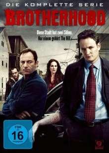 Brotherhood (Komplette Serie), 9 DVDs