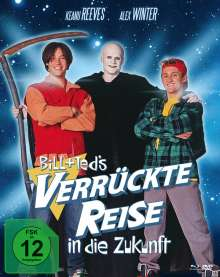 Bill & Ted's verrückte Reise in die Zukunft (Blu-ray & DVD im Mediabook), 2 Blu-ray Discs