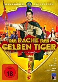 Die Rache der gelben Tiger, DVD
