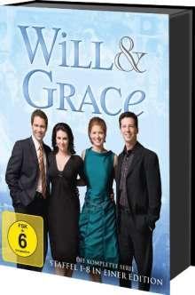 Will & Grace (Komplette Serie), 33 DVDs