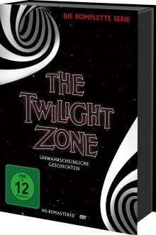The Twilight Zone (Komplette Serie), 30 DVDs