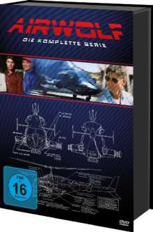 Airwolf (Komplette Serie), 21 DVDs