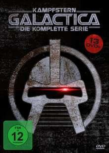 Kampfstern Galactica (Komplette Serie), 13 DVDs