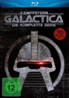 Kampfstern Galactica (Komplette Serie) (Blu-ray), 9 Blu-ray Discs und 1 DVD