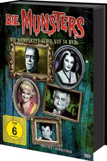Die Munsters (Komplette Serie), 14 DVDs