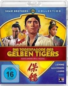 Die Todespagode des gelben Tigers (Blu-ray), Blu-ray Disc