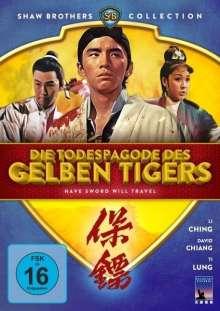 Die Todespagode des gelben Tigers, DVD