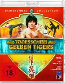 Der Todesschrei des gelben Tigers (Blu-ray), Blu-ray Disc