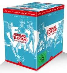 Adriano Celentano Azzurro-Edition (Blu-ray), 9 Blu-ray Discs