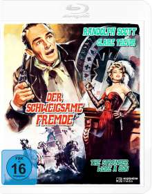 Der schweigsame Fremde (Blu-ray), Blu-ray Disc
