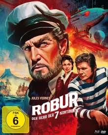 Robur - Der Herr der sieben Kontinente (Blu-ray & DVD im Mediabook), Blu-ray Disc
