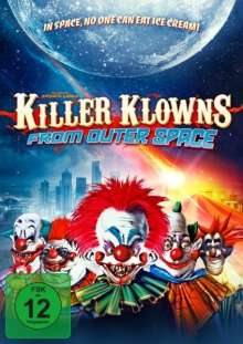 Killer Klowns - From outer Space (Blu-ray & DVD im Mediabook), Blu-ray Disc