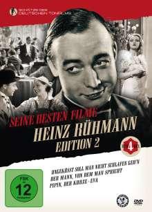 Heinz Rühmann Editon 2 - Seine besten Filme (Neuauflage), 4 DVDs