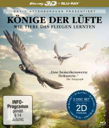 David Attenborough: Könige der Lüfte (3D & 2D Blu-ray), 2 Blu-ray Discs