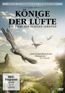 David Attenborough: Könige der Lüfte, 3 DVDs