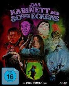 Das Kabinett des Schreckens (Blu-ray & DVD im Mediabook), 1 Blu-ray Disc und 2 DVDs