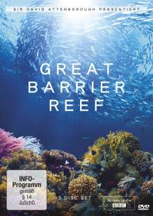 David Attenborough: Great Barrier Reef, 3 DVDs