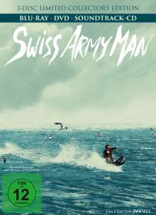 Swiss Army Man (Blu-ray & DVD im Mediabook), 3 Blu-ray Discs