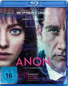 Anon (Blu-ray), Blu-ray Disc