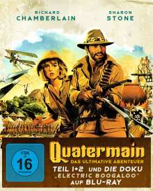 Quatermain - Das ultimative Abenteuer (Blu-ray im Digipack), 3 Blu-ray Discs