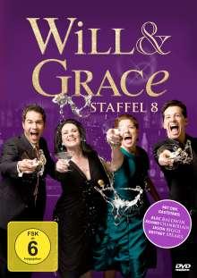 Will & Grace Season 8 (finale Staffel), 4 DVDs