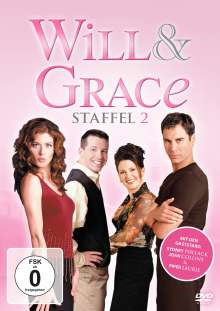 Will & Grace Season 2, 4 DVDs