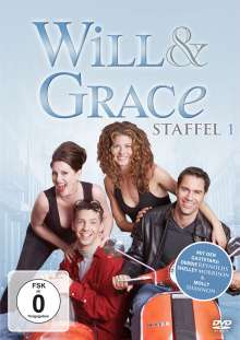 Will & Grace Season 1, 4 DVDs
