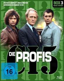 Die Profis Box 3 (Blu-ray), 4 Blu-ray Discs