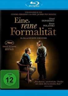 Eine reine Formalität (Blu-ray), Blu-ray Disc