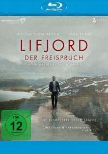 Lifjord - Der Freispruch Staffel 1 (Blu-ray), 2 Blu-ray Discs