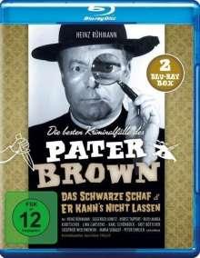 Pater Brown - Die besten Kriminalfälle: Das schwarze Schaf / Er kann's nicht lassen (Blu-ray), 2 Blu-ray Discs