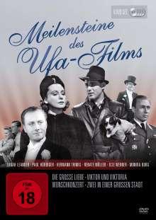 Meilensteine des Ufa-Films, 4 DVDs