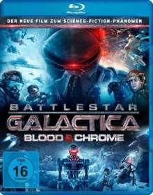 Battlestar Galactica: Blood & Chrome (Blu-ray), Blu-ray Disc