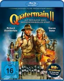 Quatermain 2 - Auf der Suche nach der geheimnisvollen Stadt (Blu-ray), Blu-ray Disc