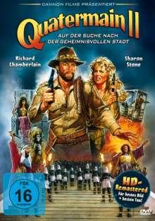 Quatermain 2 - Auf der Suche nach der geheimnisvollen Stadt, DVD