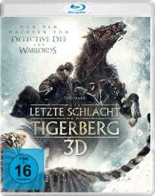 Die letzte Schlacht am Tigerberg (3D Blu-ray), Blu-ray Disc
